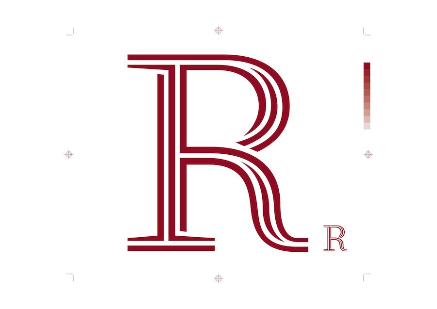 Zoom sur une lettre de la typographie ecologique Ryman Eco
