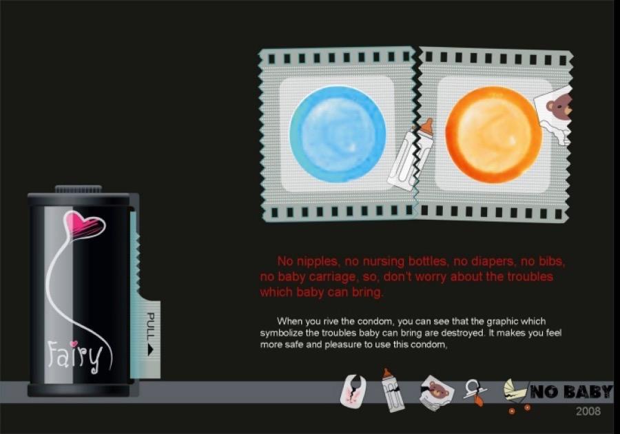 packagings de preservatifs novateurs condom capote we need cafeine-9