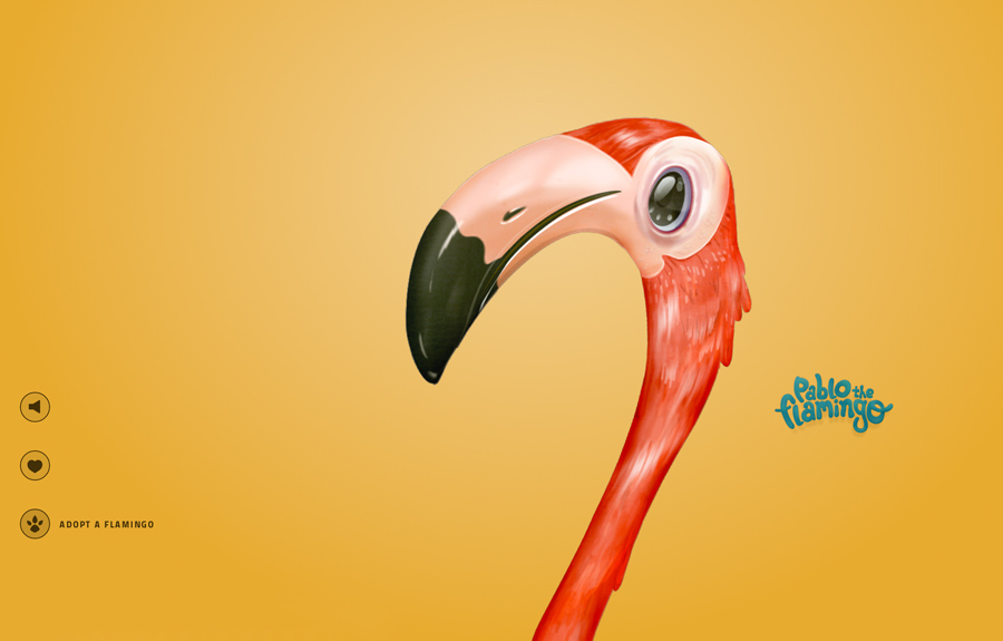 pablo the flamingo wwf - we need cafeine-1