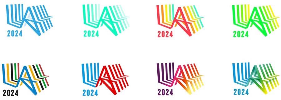 los angeles olympic games identité des Jeux Olympiques re saatchi-2