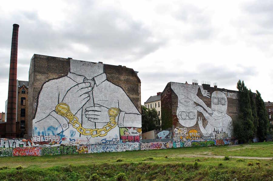 Street artiste blu - Street-Art-In-Berlin-BLU-4