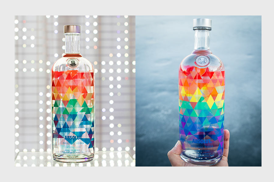 packaging absolut vodka mix edition - we need cafeine