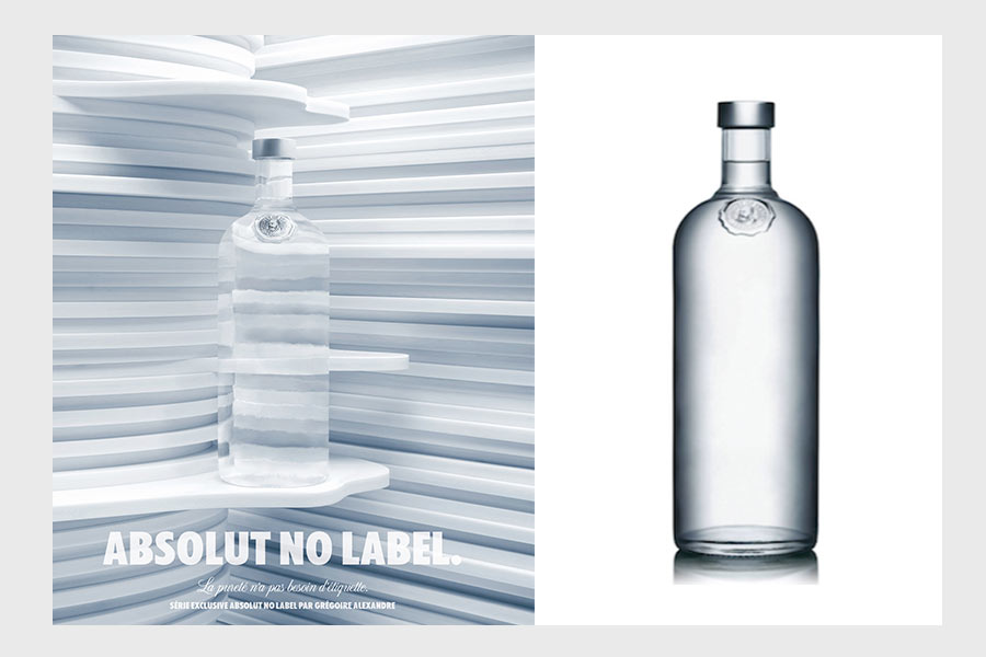 packaging absolut vodka no label - we need cafeine