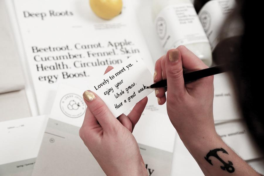 leeds juicery branding alphabet - we need cafeine-10