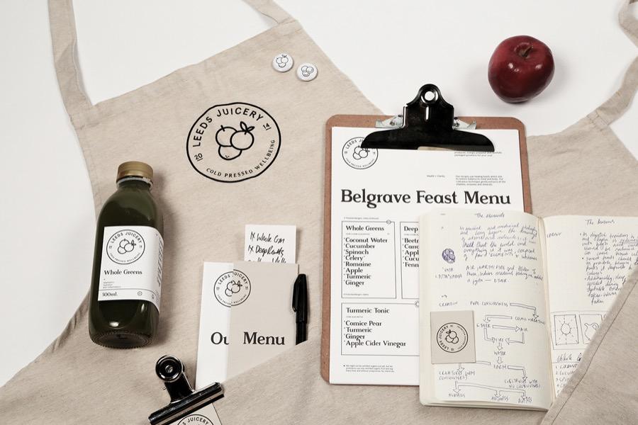 leeds juicery branding alphabet - we need cafeine-7