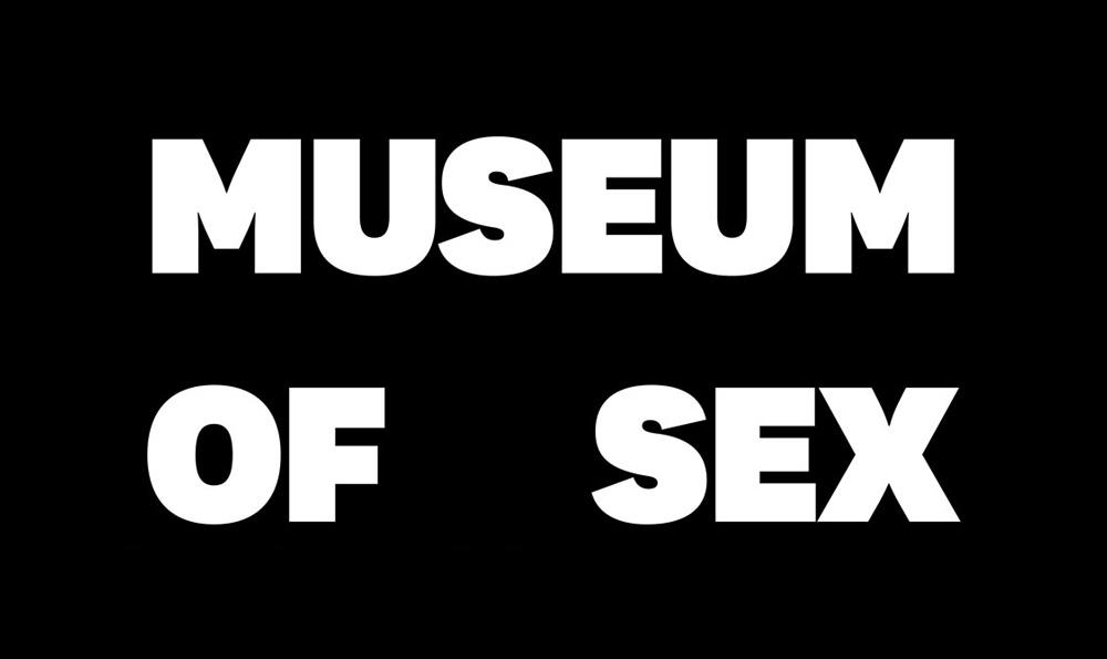 Logo du Museum of Sex NYC par Base Design