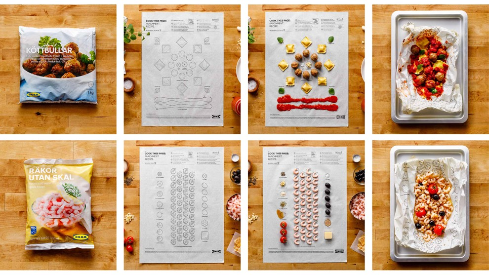 ikea recettes en kit - cook this page - leo burnett - we need cafeine -01