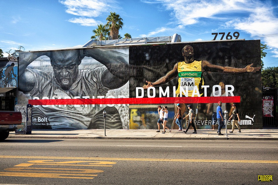 colossal new york publicite peinte murale - we need cafeine -01
