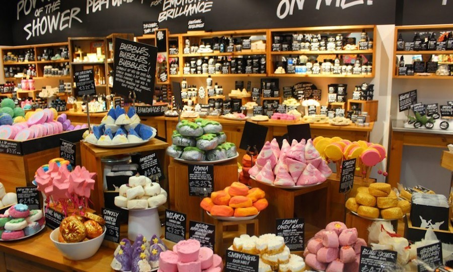 Shop - La Strategie Marketing de LUSH