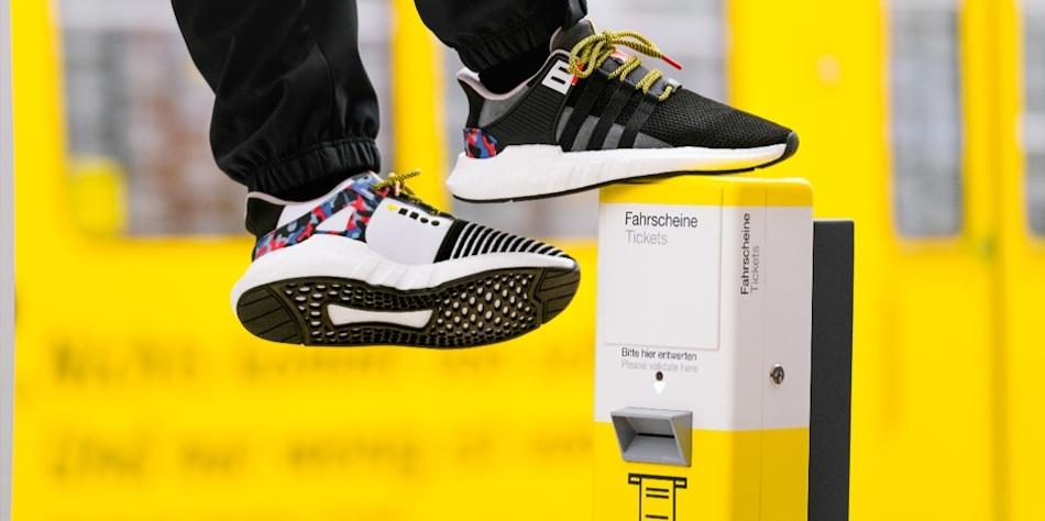 À Berlin, Adidas crée des baskets pour ne plus payer le métro - 01
