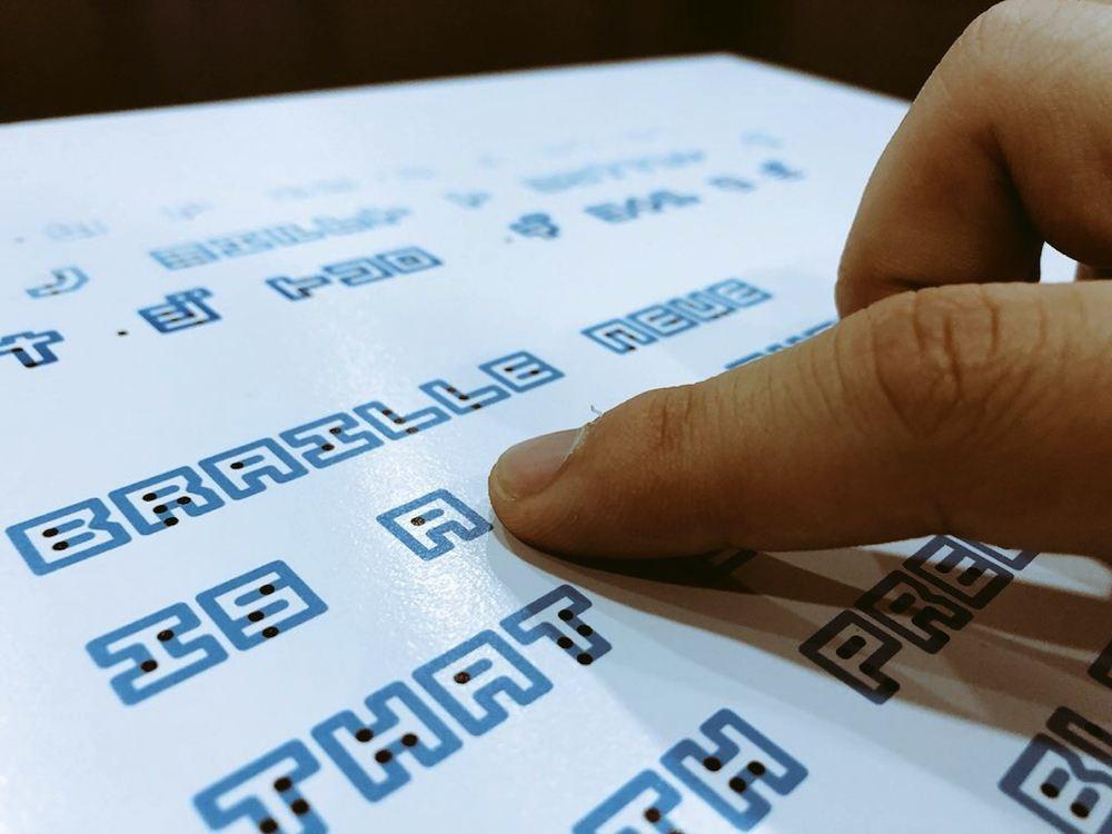 Kosuke Takahashi Braille Neue Typographie Police -03