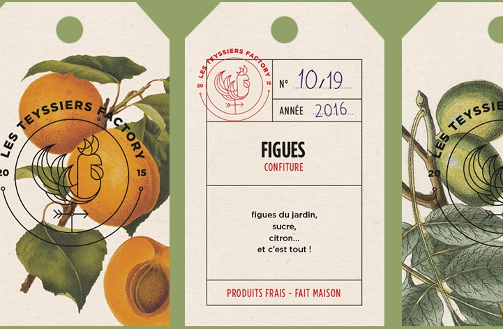 Packaging Les Teyssiers Factory - Antoine Peltier - Designer graphique independant - 3