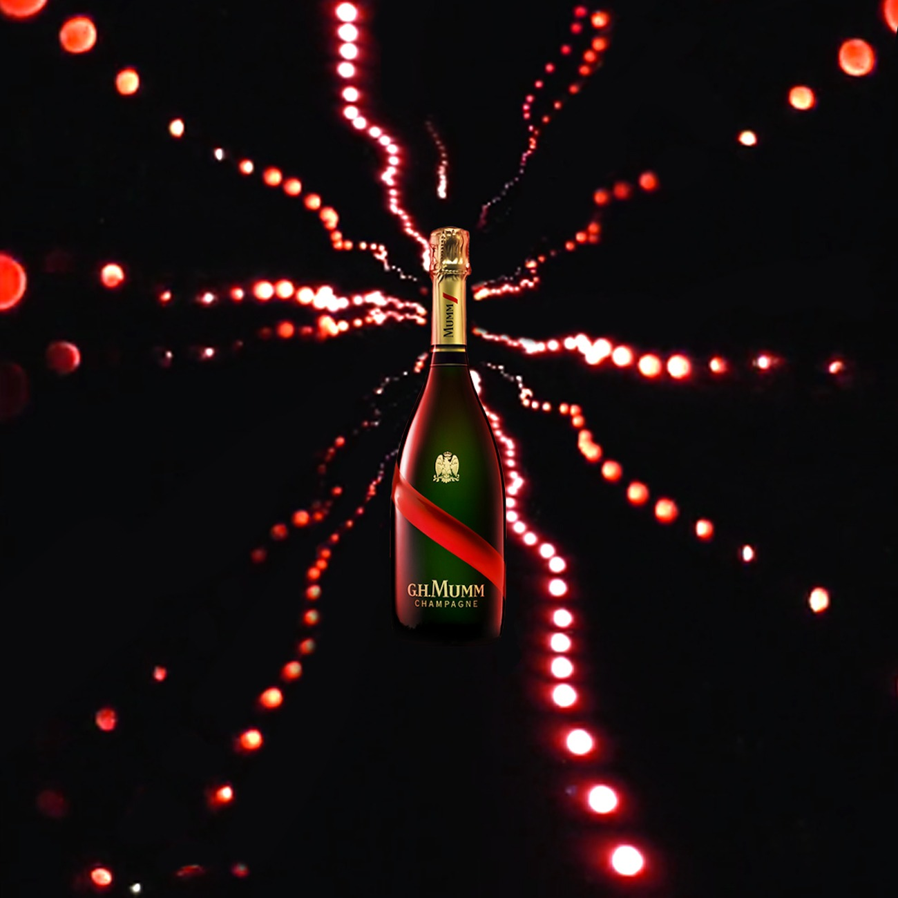 Mumm Grand Cordon - Antoine Peltier x Braaxe - Direction artistique Electric