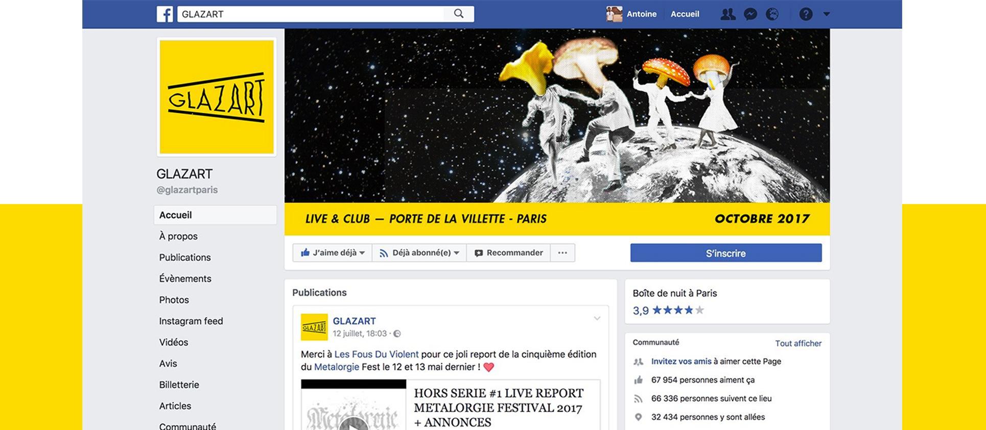 Communication graphique du Glazart - Antoine Peltier et Juline Labriet - 3