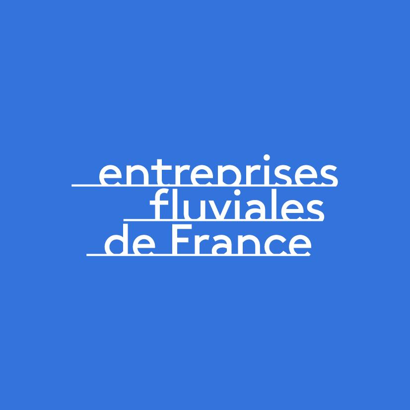 Logotype-Entreprises-Fluviales-de-France-E2F-Antoine Peltier-Designer