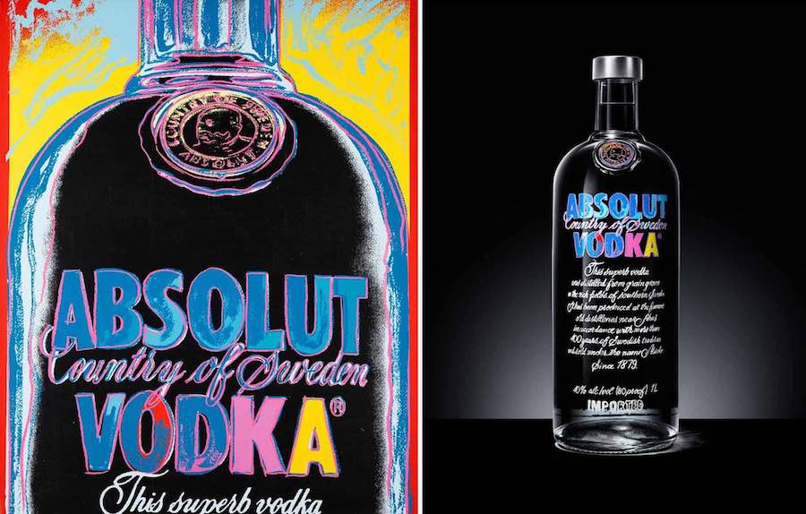 packaging absolut vodka warhol edition - we need cafeine 1