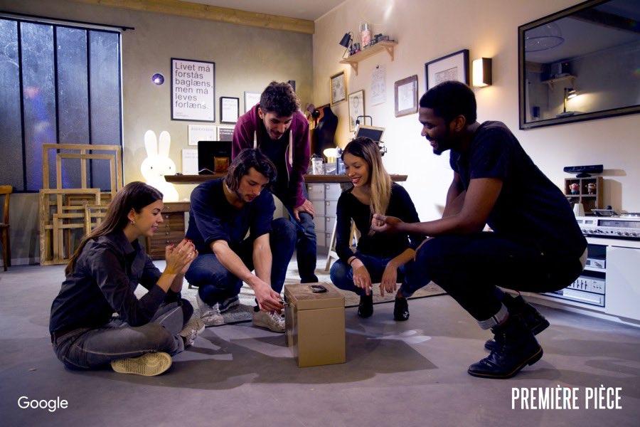 premiere piece escape game google we are social - wnc-3