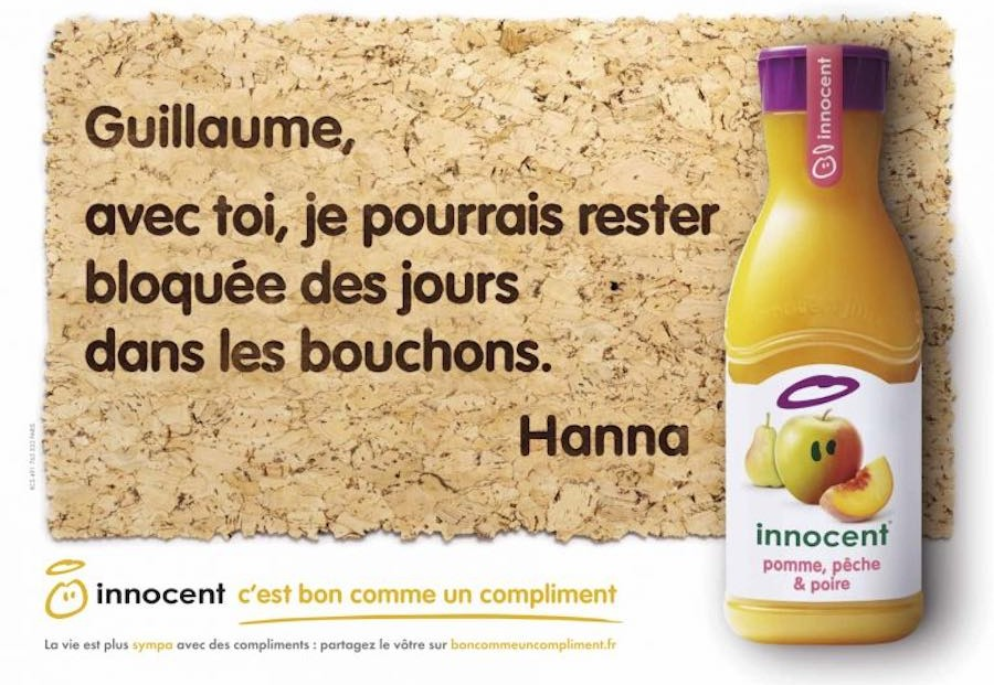 strategie marketing innocent smoothie - we need cafeine 5