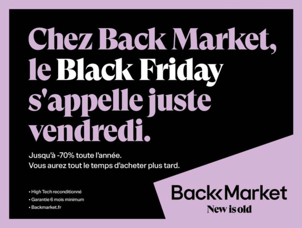 Affiches de pub pour le Black Friday - 2