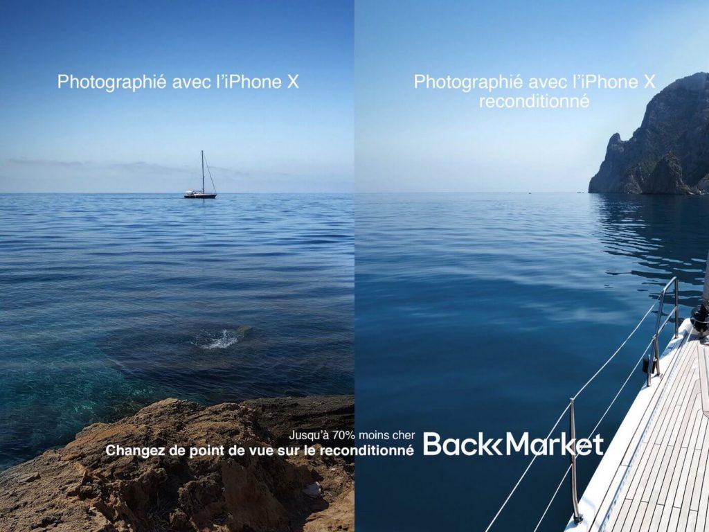 Campagne affichage de Marcel en référence à Apple - 2