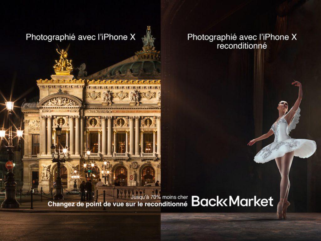 Campagne affichage de Marcel en référence à Apple - 1