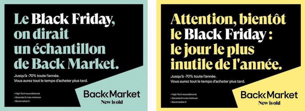 Affiches de pub pour le Black Friday - 1