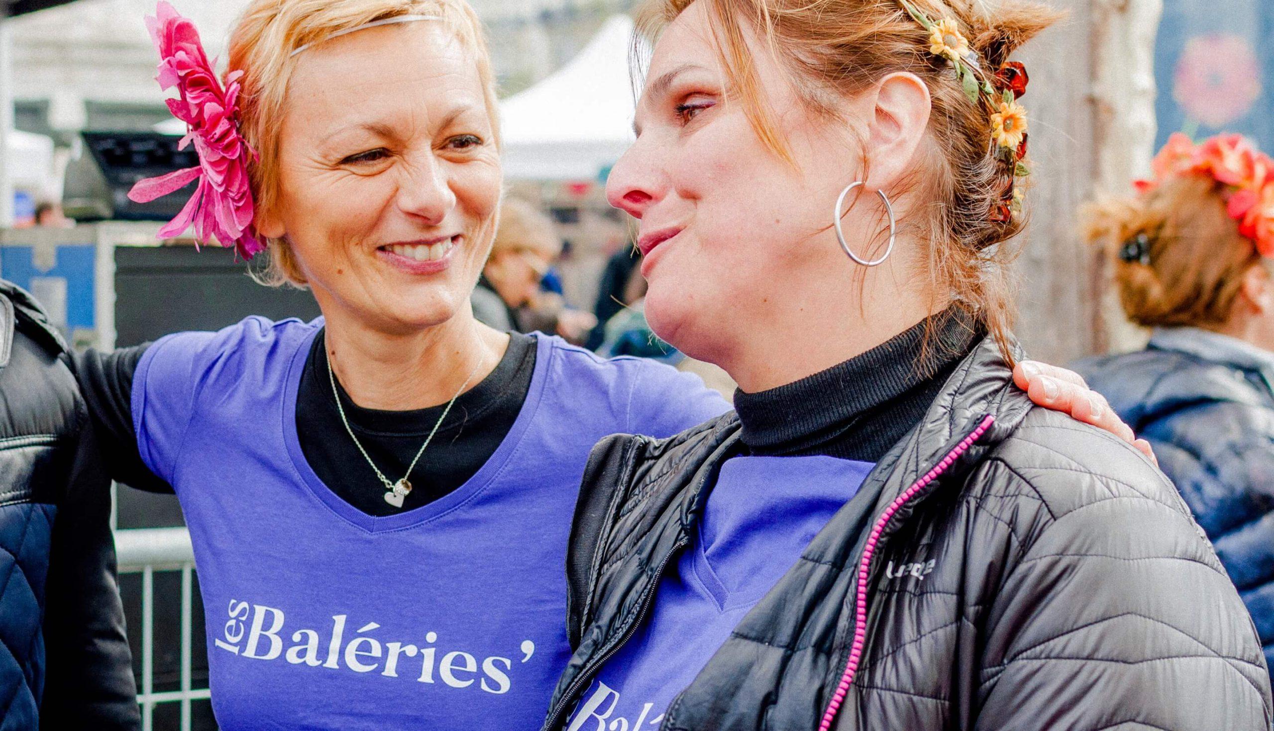 Valerie Jeuffroy, fondatrice de Les Baleries, à la Cancer Pride