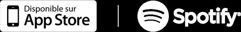 Logotype des plateformes de podcast