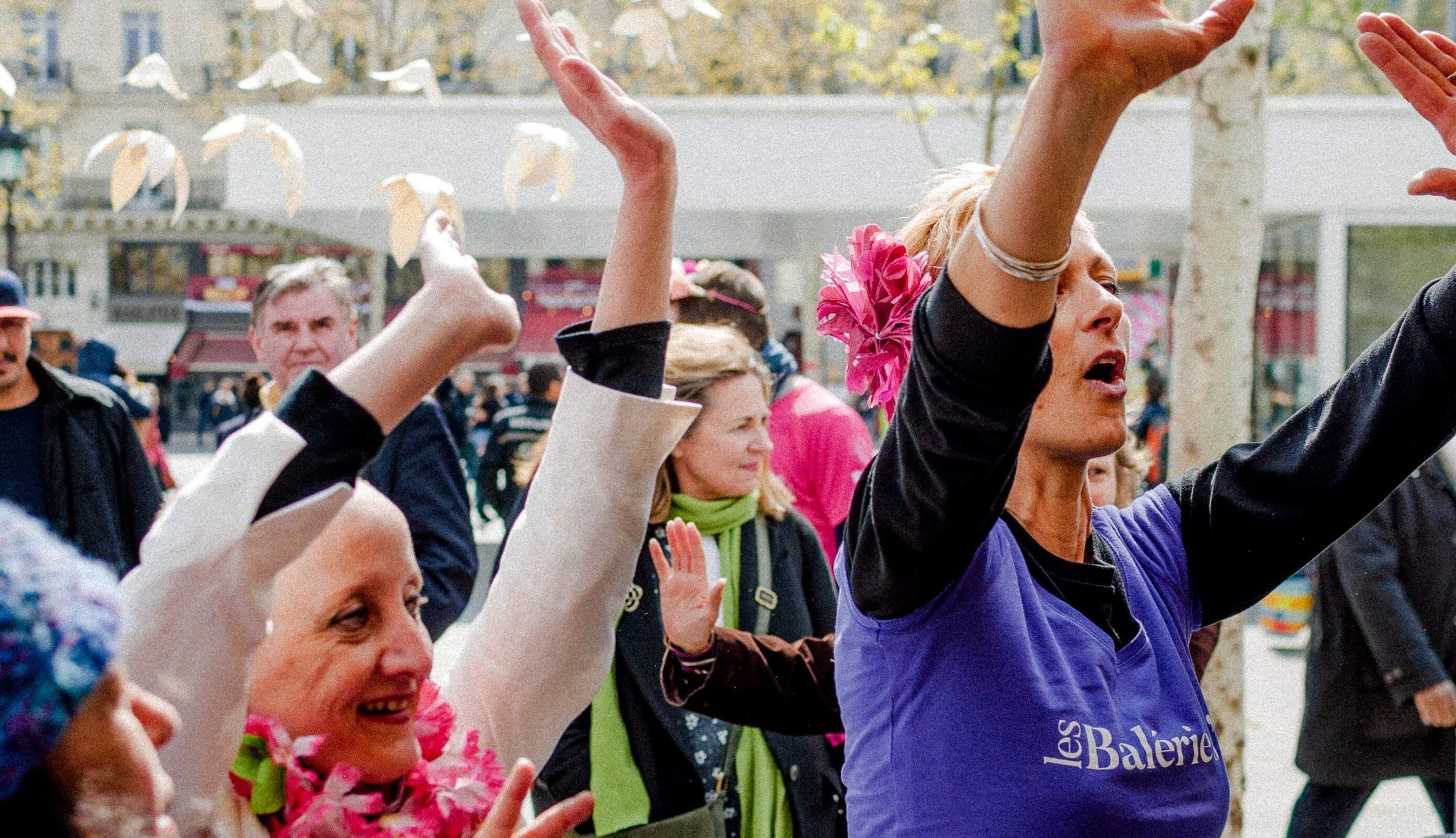 Valerie Jeuffroy à la Cancer Pride contre le cancer du sein