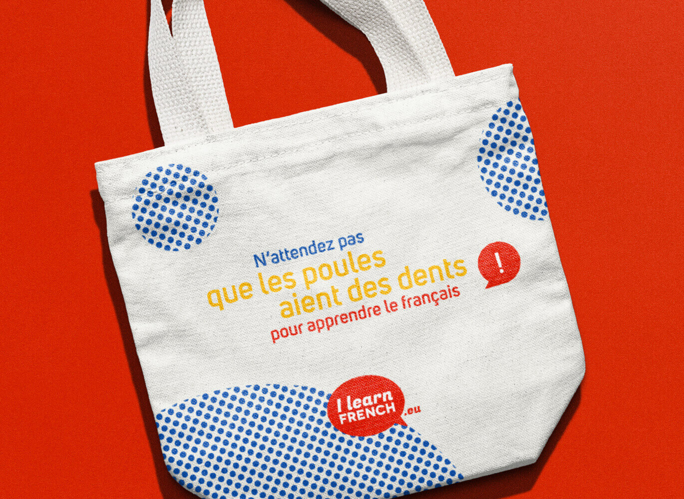 Tote bag I Learn French
