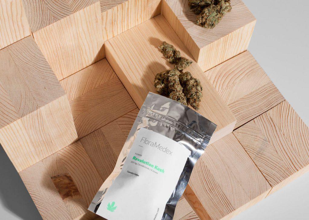 Packaging de weed : Floramedex - 02