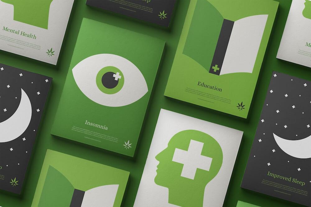 Packaging de weed : Cannabis Mentor - 01