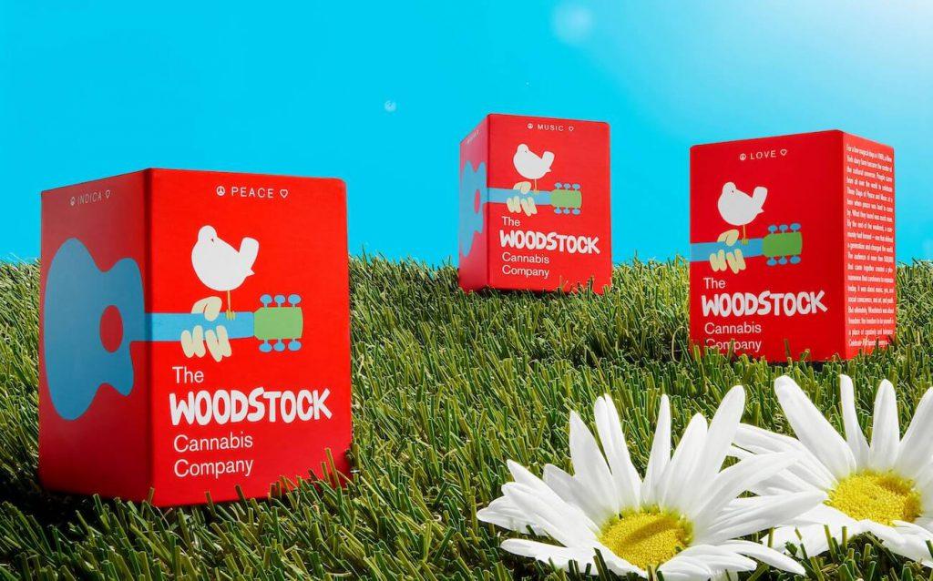 Marques de cannabis par Pentagram : Woodstock Company - 01