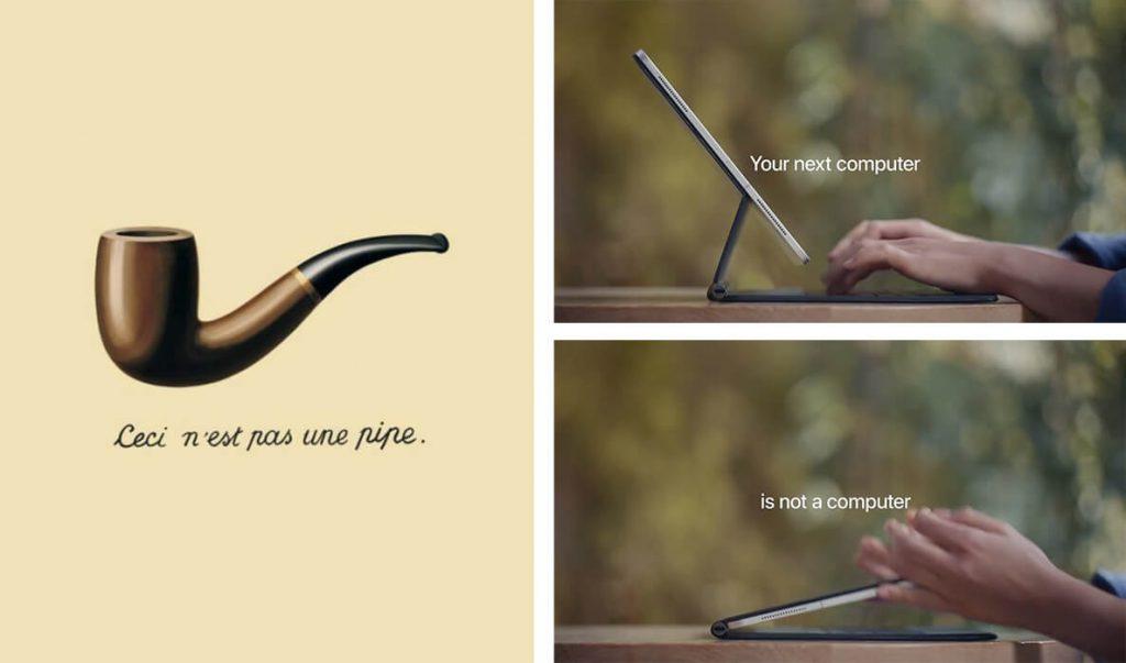 Etude sémiologique d'une publicité Apple iPad Pro