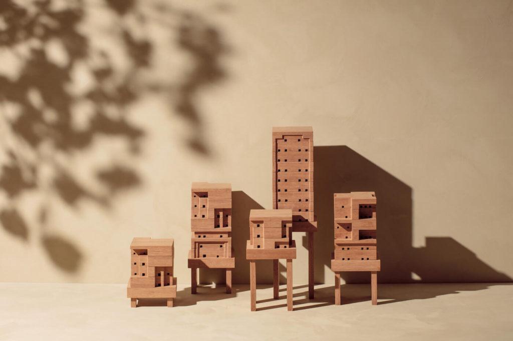 Les différents modele de nichoir à abeilles de Ikea et Space10