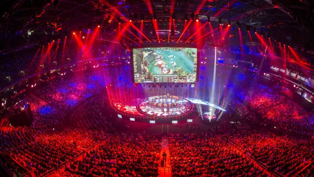 Finale de League Of Legends à l'Accor Arena
