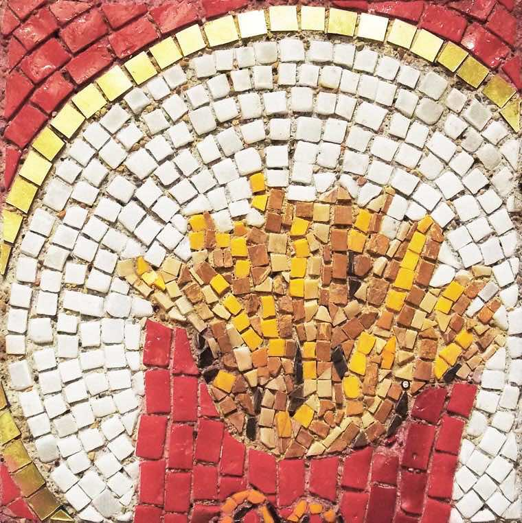 McDonald en mosaique