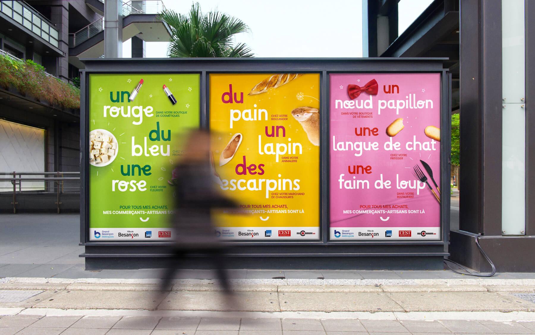 Campagne de communication pour sauver les commercants du Grand Besancon Metropole