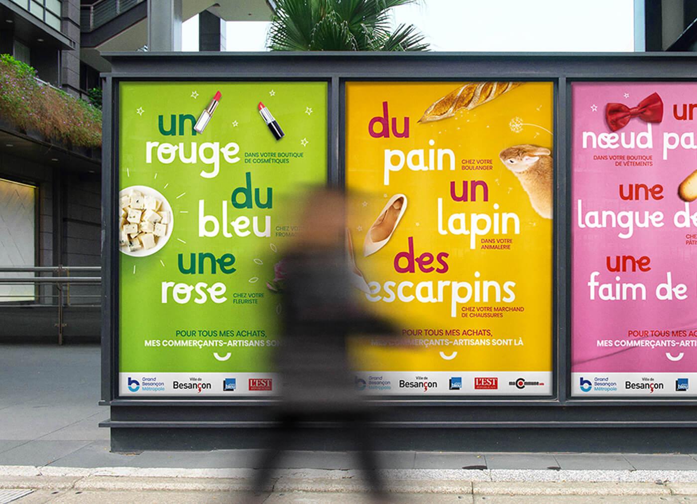 Campagne de communication pour sauver les commerces du Grand Besancon Metropole - 2