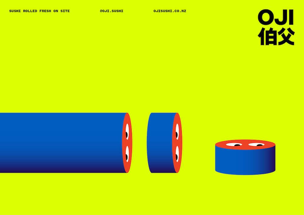 Ouverture du site web de Oji Sushi par Seachange