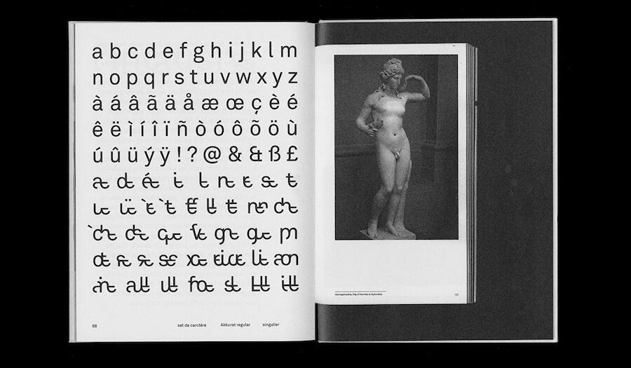 Extrait du diplome sur la typographie inclusive de Tristan Bartolini - 1