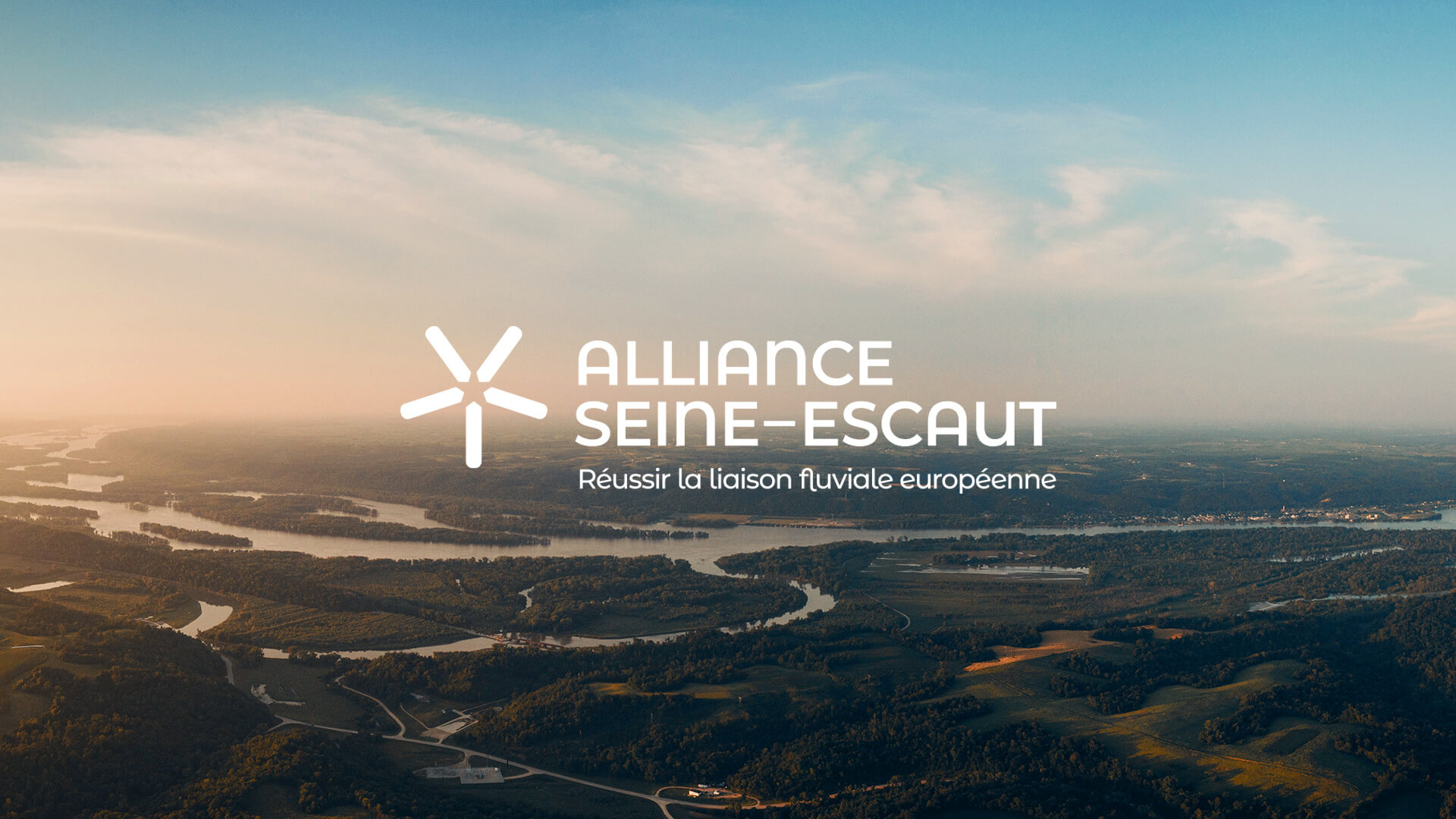 Nouveau logotype de l'Alliance Seine-Escaut