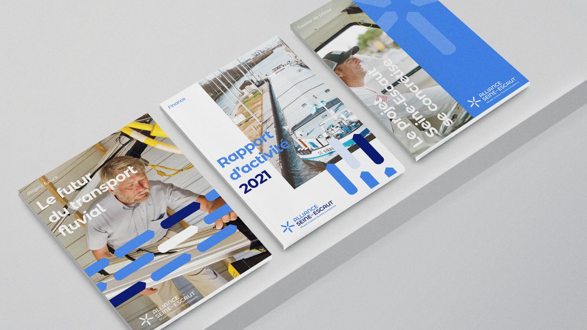 Détail des rapports d'activité de l'Alliance Seine-Escaut