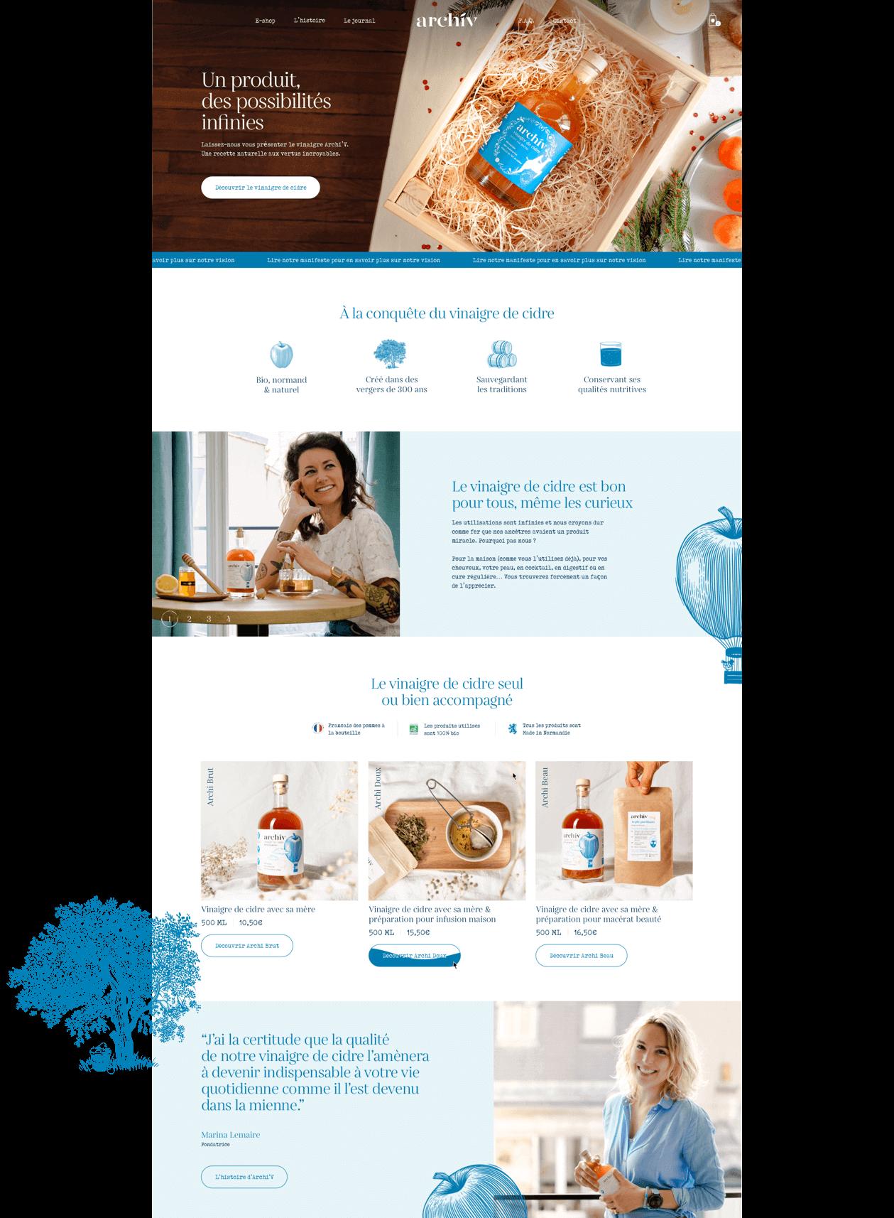 Site Web de la marque Archiv - 2