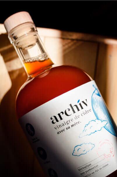 Photographies du vinaigre de cidre ArchiV