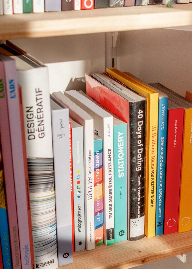Bibliothèque et inspirations d'Antoine Peltier