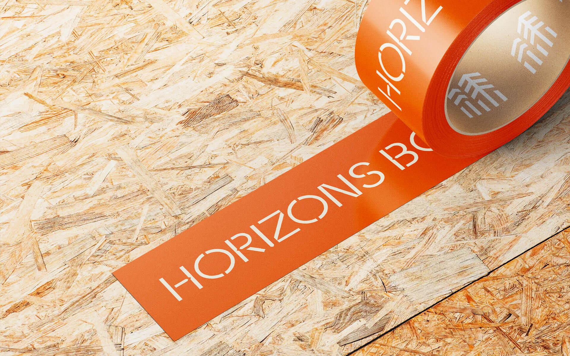 Exemple application de identite visuelle Horizons Bois