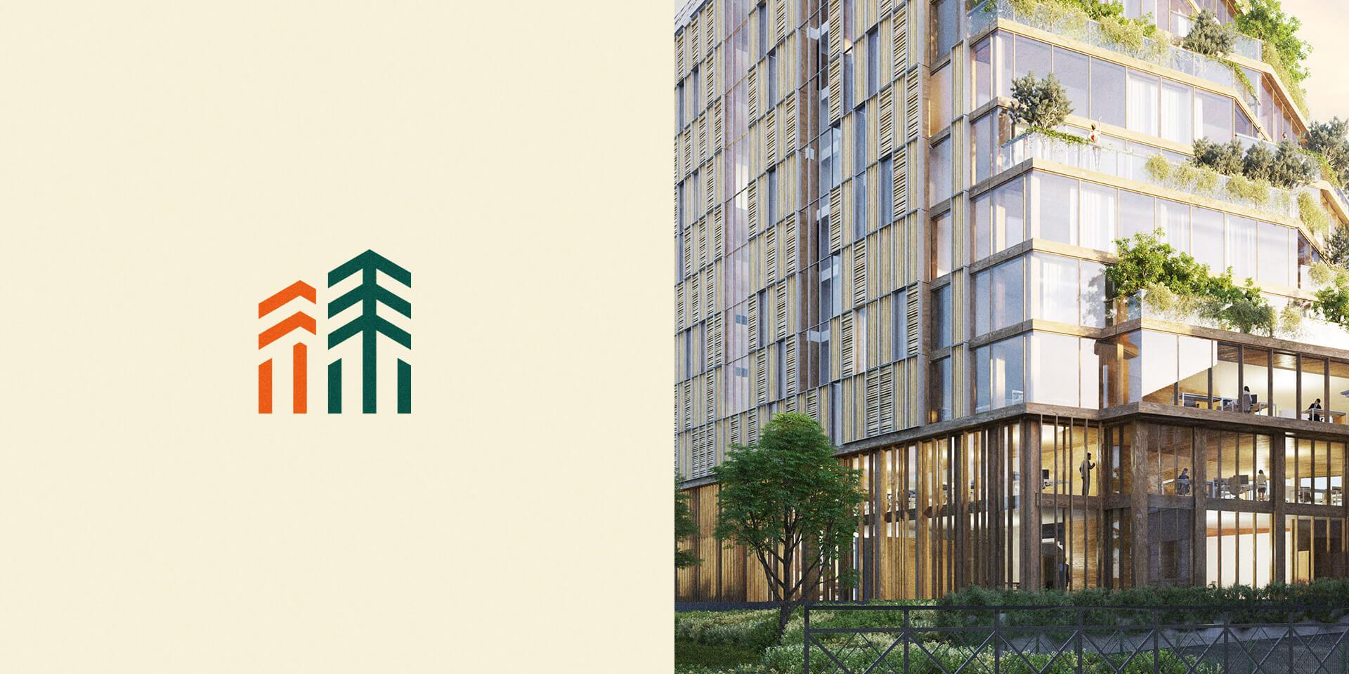 Nouvelle identite visuelle de Horizons Bois par Architecture Plurielle